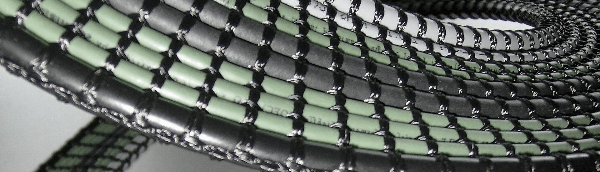 Cable-Systems Gewebebandleitungen